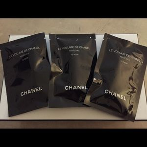 Chanel Black Mascara 3 Samples